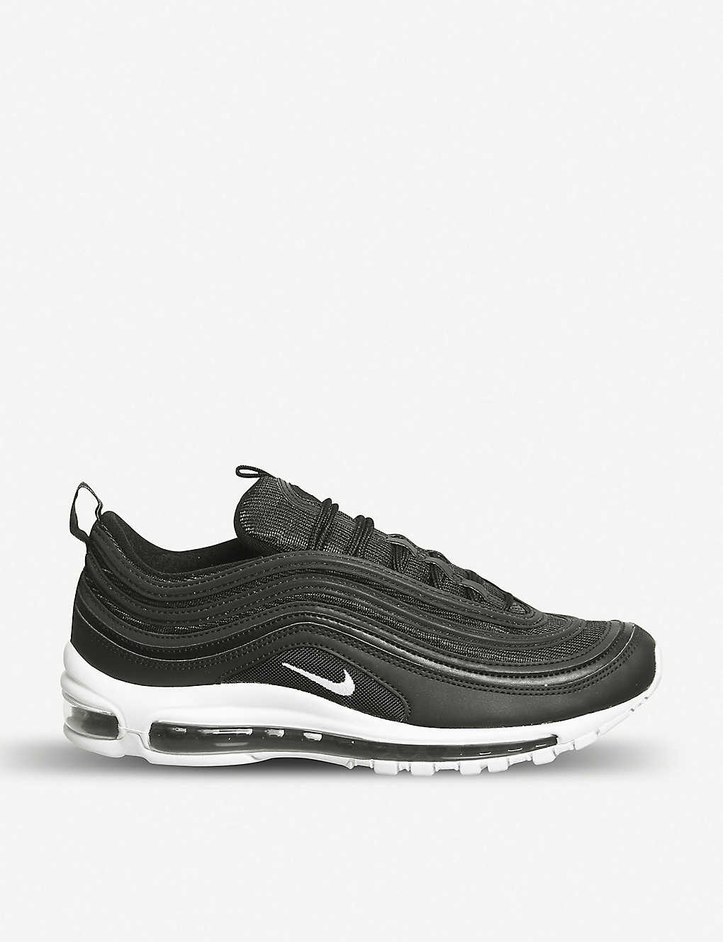 the best attitude 7fe18 f10a0 NIKE Air Max 97 leather trainers