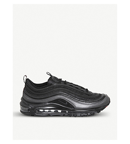 48b5c9353ce06 ... where to buy nike air max 97 faux leather trainers blackanthracite.  previousnext 62807 c4d29