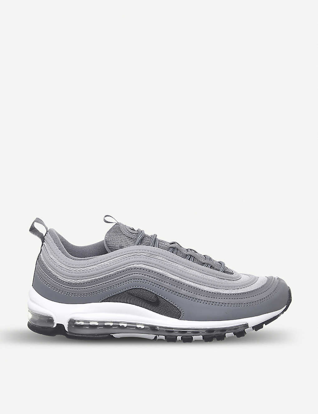 buy online 1b74b 52c02 Air Max 97 leather trainers - Cool grey wolf grey ...