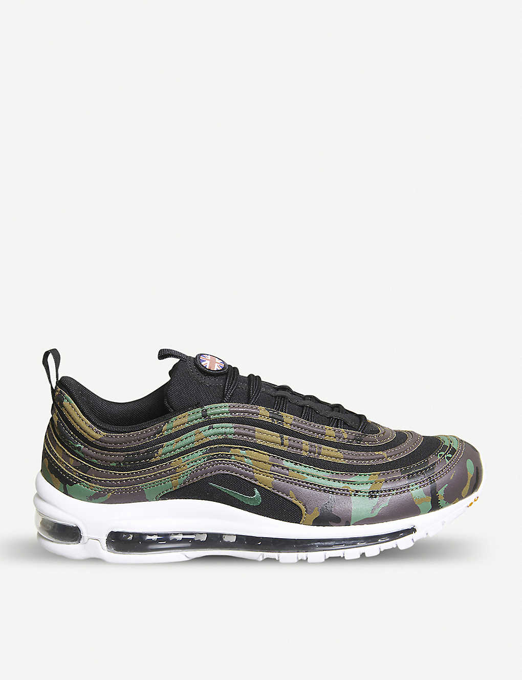 06bc70a1ad NIKE - Air Max 97 Country Camo UK leather, textile and mesh trainers ...