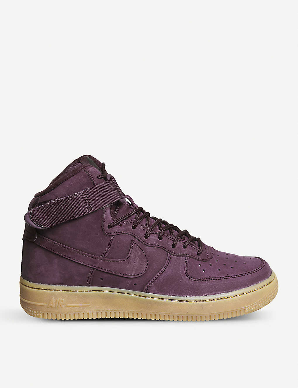 chaussures de sport accde 0680f NIKE - Air Force 1 suede high-top trainers | Selfridges.com