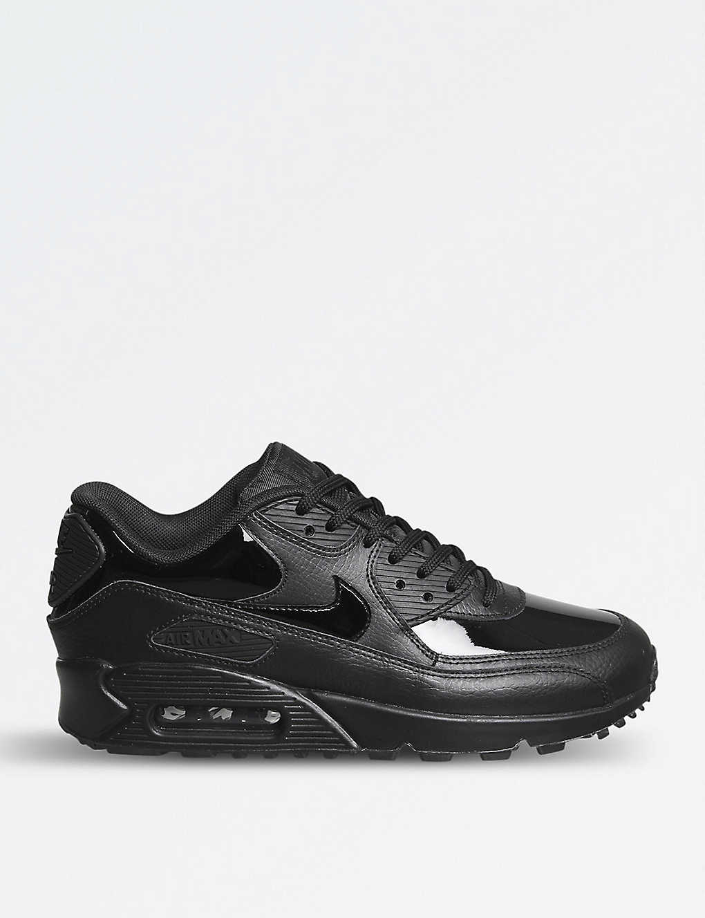 size 40 a0175 6d5f4 ... Air Max 90 patent leather trainers zoom ...