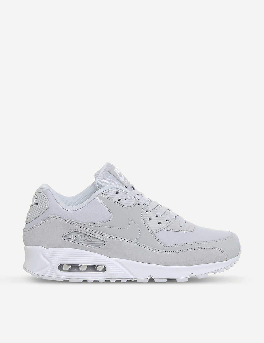 d4d8644faa NIKE - Air Max 90 mixed leather trainers | Selfridges.com