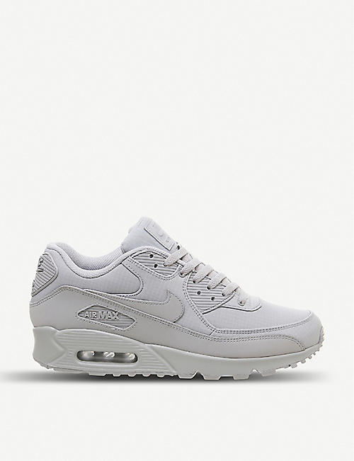 7c5195151199 NIKE Air Max 90 leather and mesh trainers