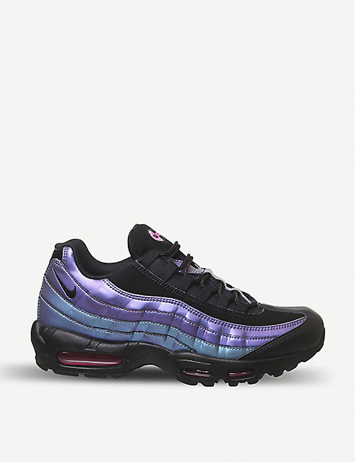 new styles 0d301 c5309 NIKE Air Max 95 leather and synthetic trainers