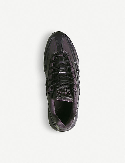 NIKE Air Max 95 leather and synthetic trainers