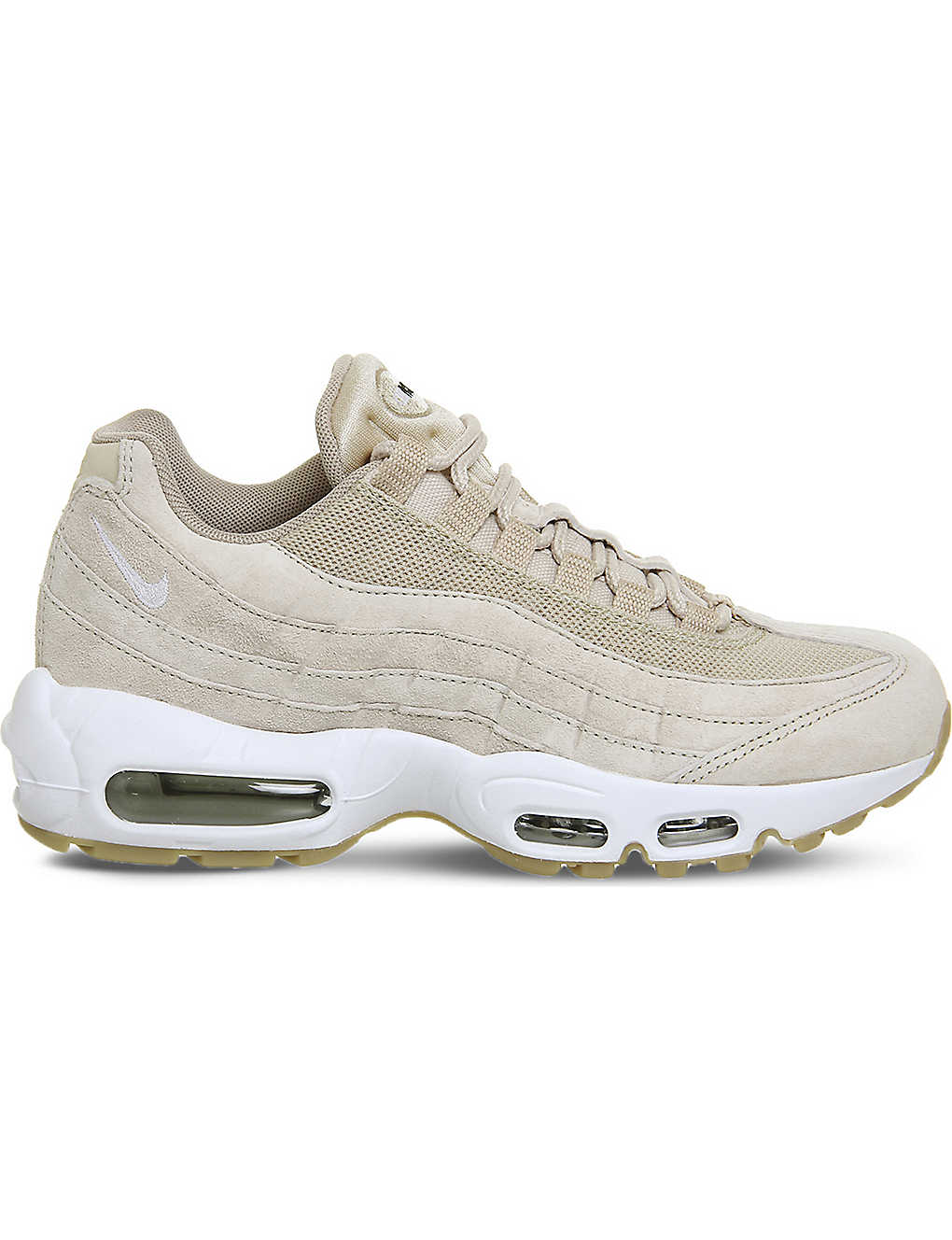 watch ed023 13faf ... Air Max 95 suede and mesh trainers zoom ...