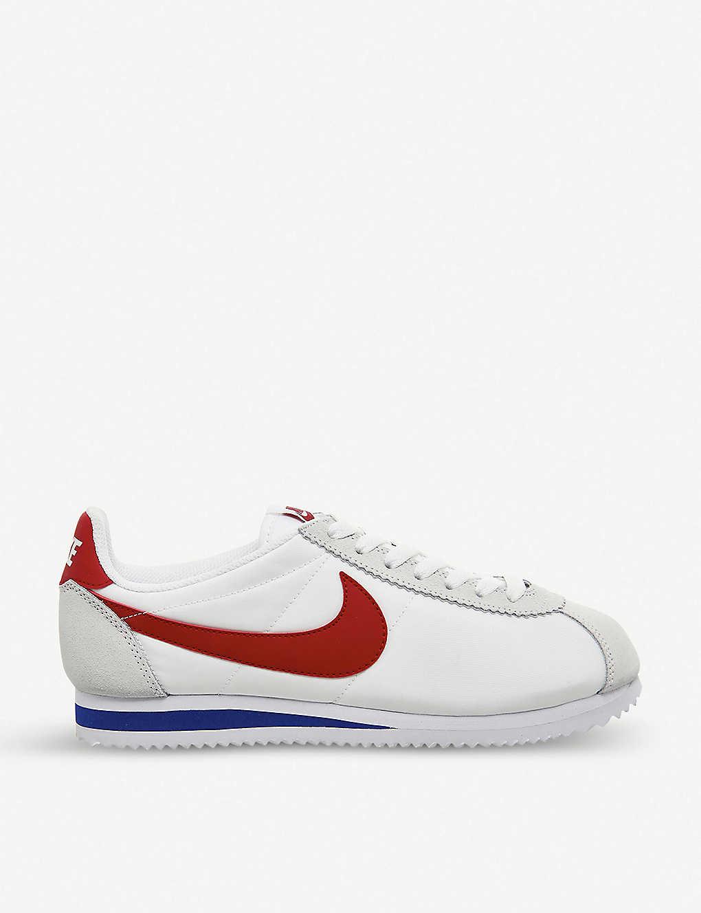 sports shoes 803ae 87eb8 NIKE - Cortez suede and nylon trainers | Selfridges.com