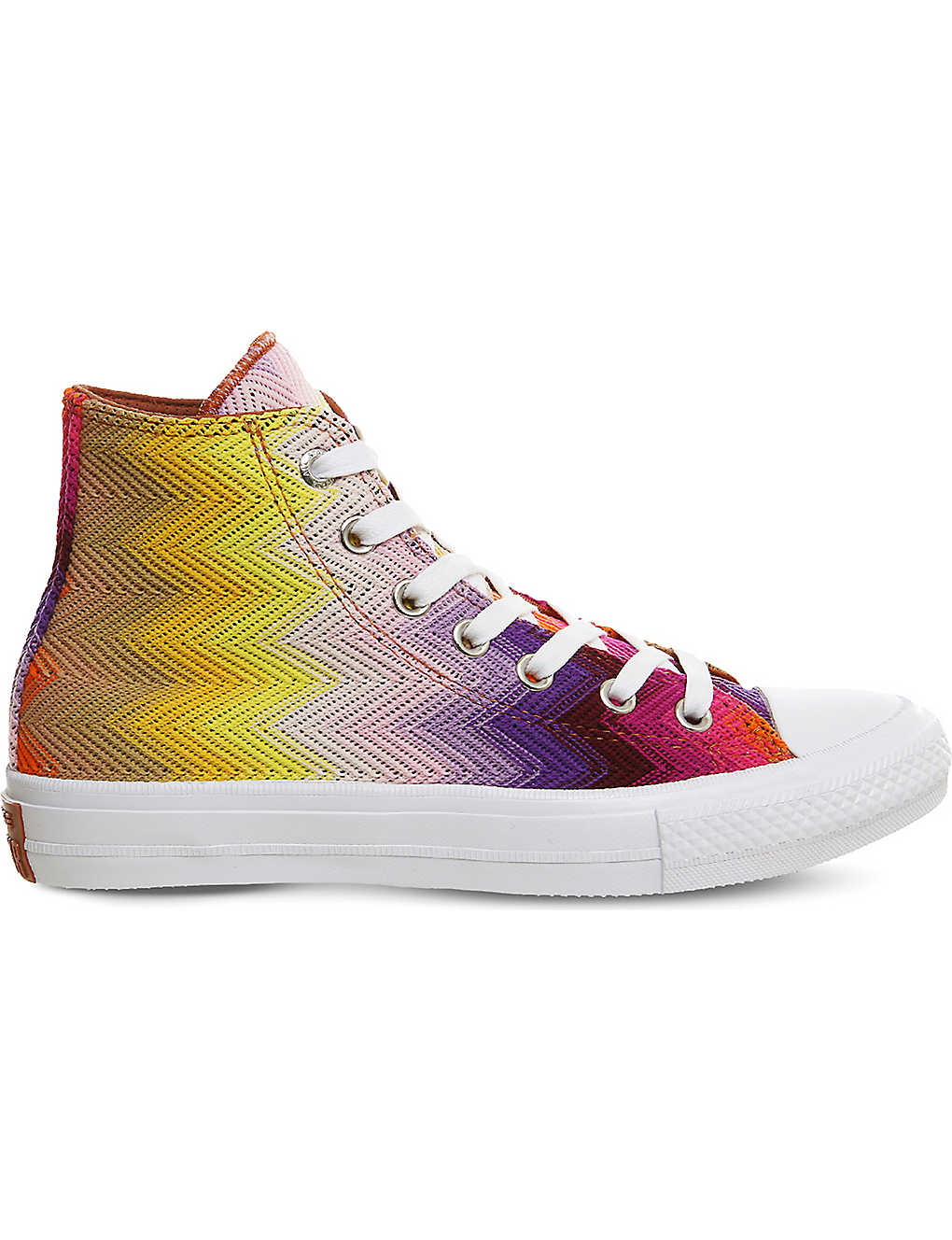 4bb3fe49df CONVERSE - Missoni Chuck Taylor All Star II shield high-top trainers ...