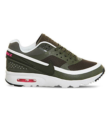new products 9c797 12a98 NIKE Air Max BW mesh trainers (Cargo+khaki+white+w