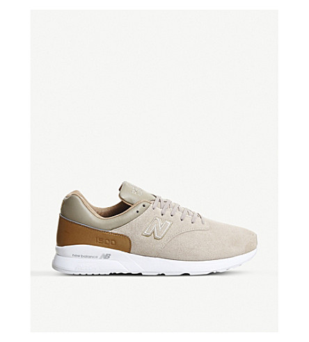 sports shoes b961e f9a40 NEW BALANCE - MD1500 suede and leather trainers | Selfridges.com