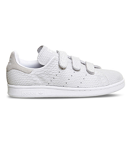 7c1feb02b98 ADIDAS Stan Smith CF low-top leather trainers (Triple+white