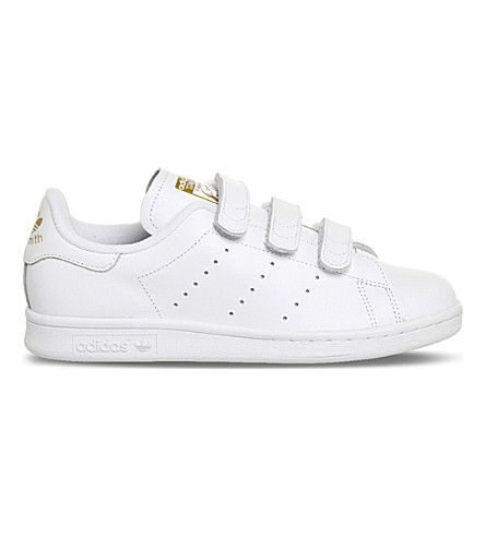 54956c274a8 ... ADIDAS Stan Smith CF leather trainers (White+gold+metallic. PreviousNext