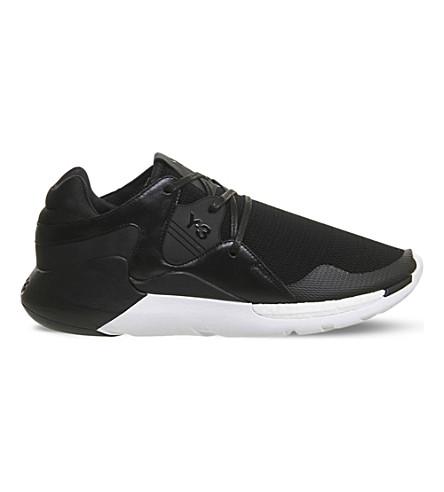 9ffa56cd086f ADIDAS Y3 Boost QR neoprene trainers (Black+white