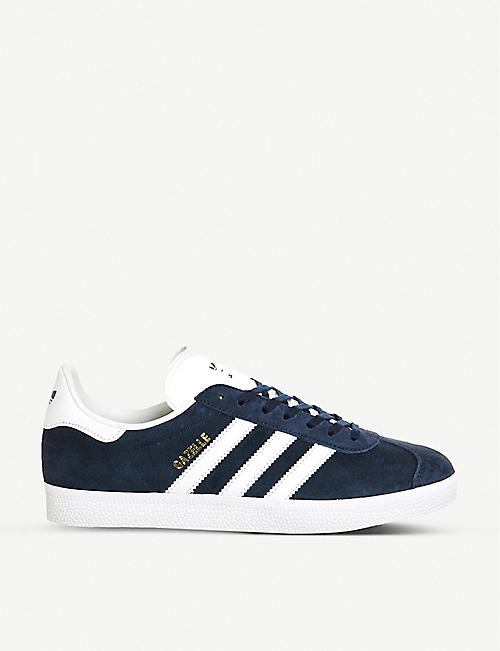 best service bb341 a76af ADIDAS Gazelle suede trainers