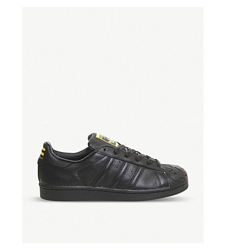 20b8ff7cd7835 ADIDAS Todd James Superstar 1 leather trainers on PopScreen