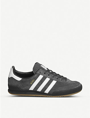 ADIDAS: Jeans suede trainers