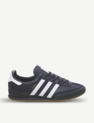 ADIDAS Jeans leather trainers