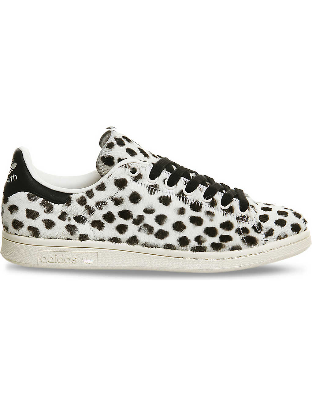 timeless design 11ff8 e2230 ... Stan Smith pony-hair leather trainers zoom ...