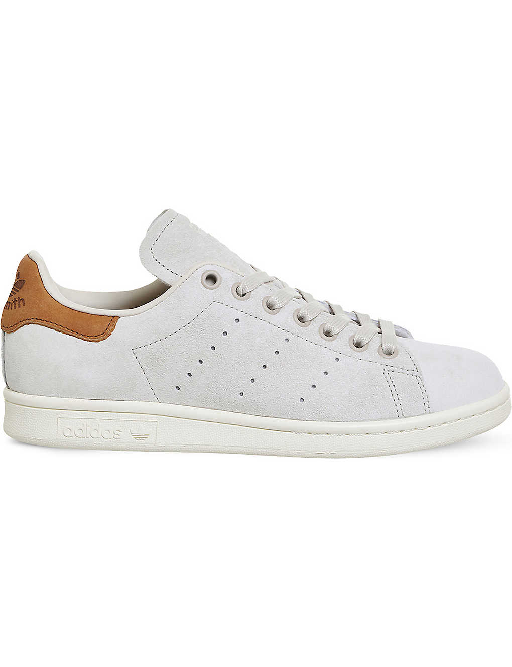 separation shoes 03a13 26678 ADIDAS - Stan Smith low-top nubuck trainers | Selfridges.com