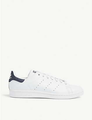 ADIDAS: Stan Smith leather trainers