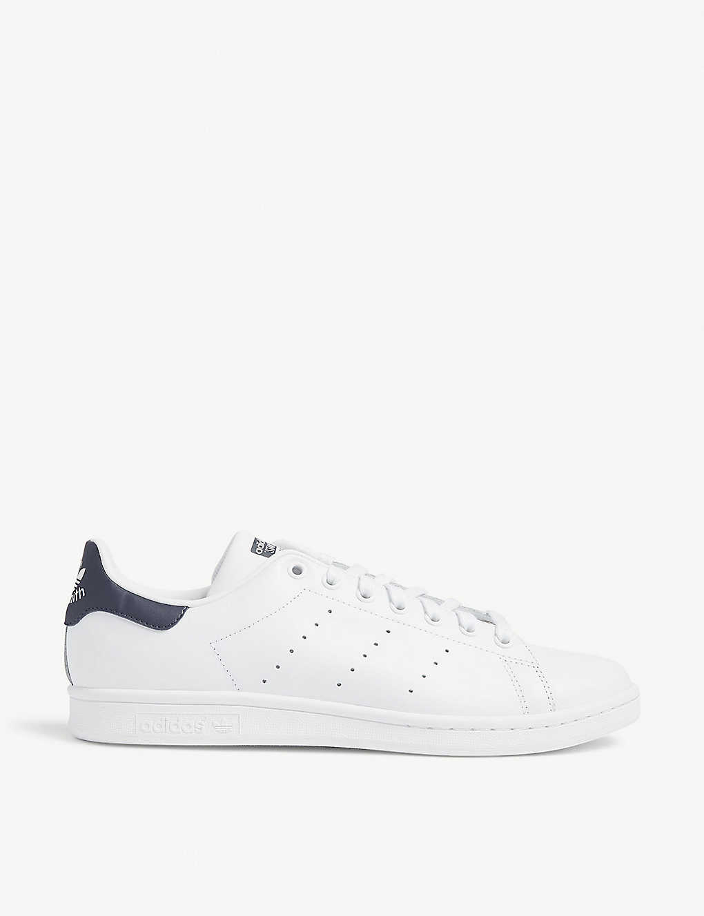 on sale 4e2b3 38241 Stan Smith leather trainers