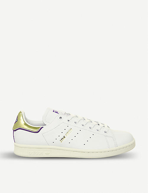 8eb4b23f5271 ADIDAS Stan Smith Elizabeth Line leather trainers