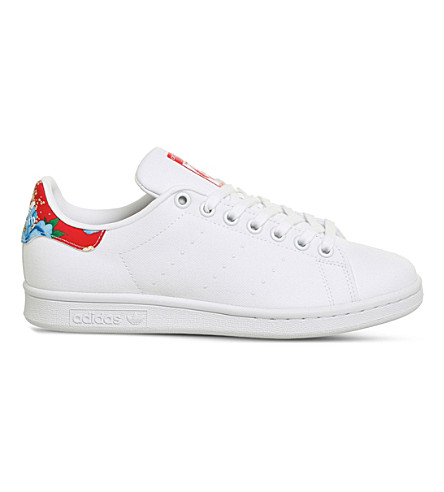 ADIDAS - Stan Smith floral canvas trainers  c0f7c83e8