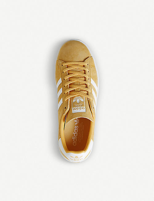 ADIDAS Campus suede trainers