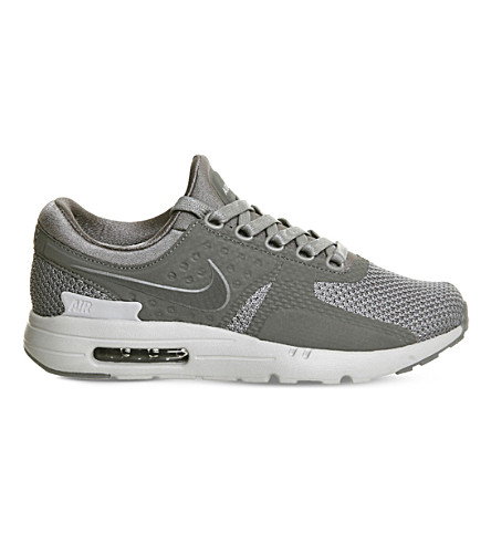 more photos dd883 a2fb2 NIKE Air Max Zero mesh trainers (Cool+grey+wolf+grey