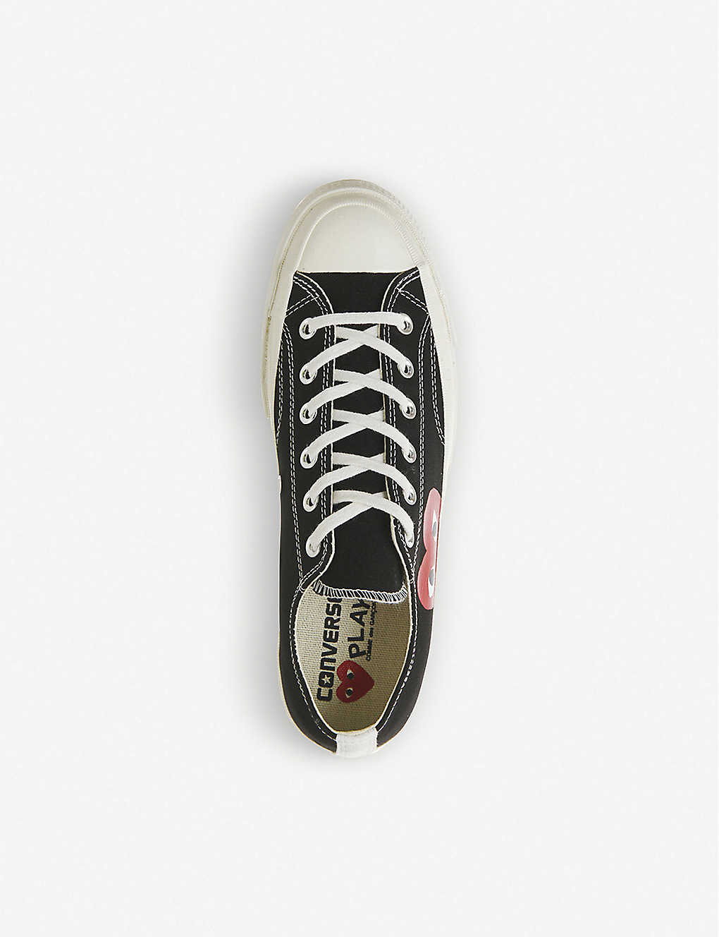 494e3664cfdc6f COMME DES GARCONS - Converse 70s x play cdg trainers