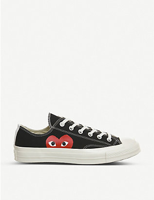 COMME DES GARCONS: Converse 70s x play cdg trainers