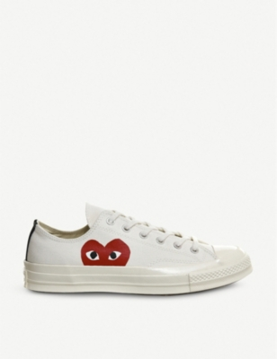 COMME DES GARCONS Converse 70s x play cdg trainers