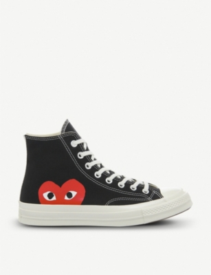 COMME DES GARCONS Converse high-top 70s x play cdg trainers