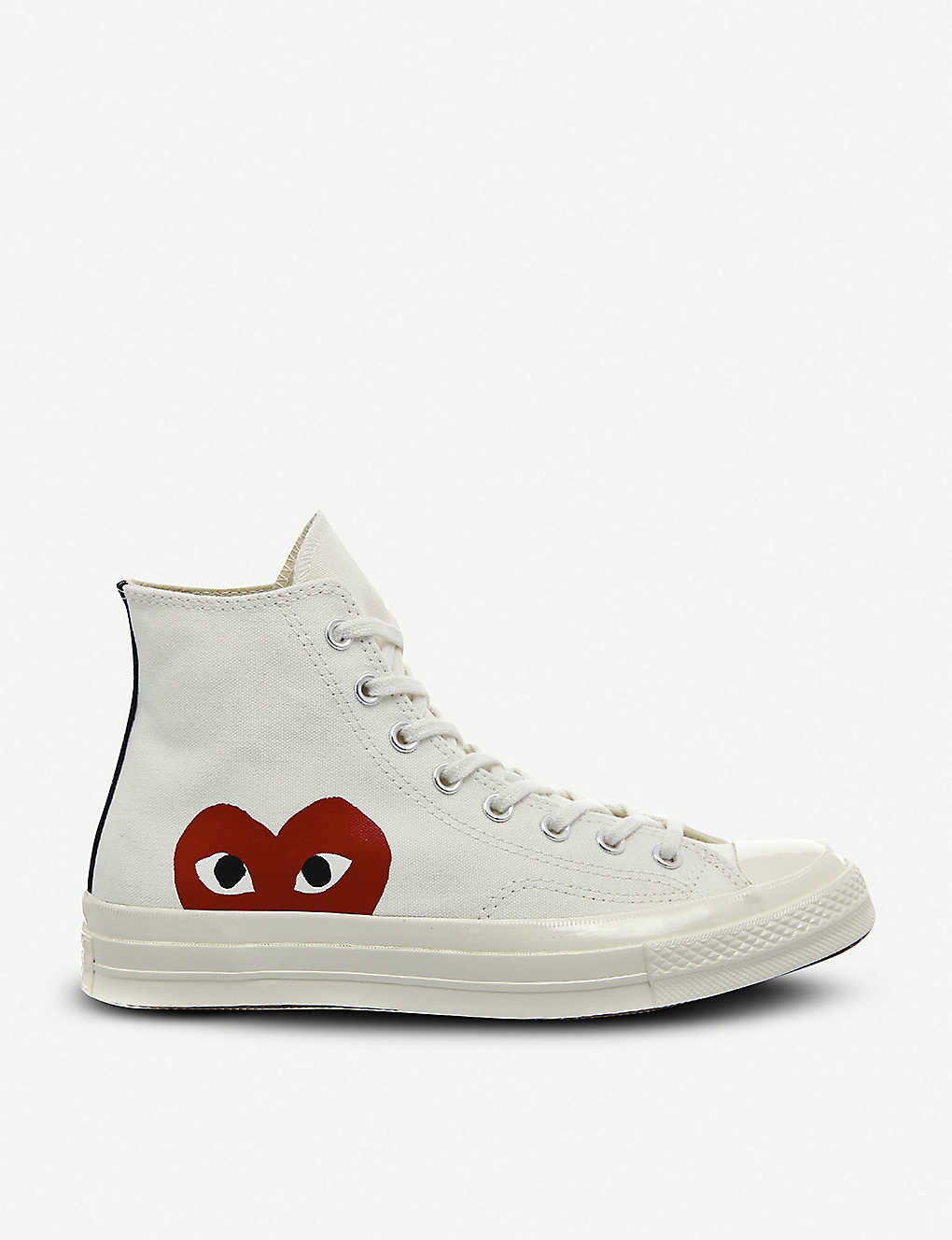 Converse high top 70s x play cdg trainers
