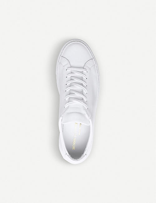 COMMON PROJECTS Original Achilles leather low-top trainers