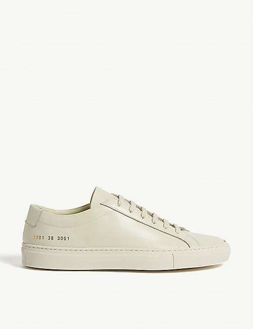 af61dda1e250 COMMON PROJECTS Achilles leather low-top trainers