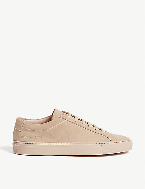 COMMON PROJECTS Achilles suede low-top trainers