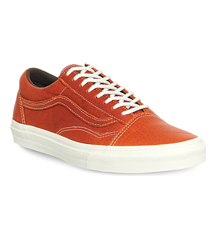 2965319606 VANS - Old Skool Reissue CA leather trainers