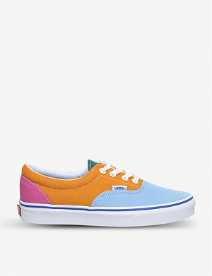 VANS Era colour-block canvas trainers