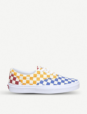 VANS Era multi-colour checked canvas trainers