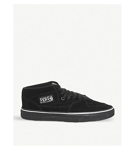 a1aa6ce77b VANS Half Cab Pro suede trainers (Black+white+black