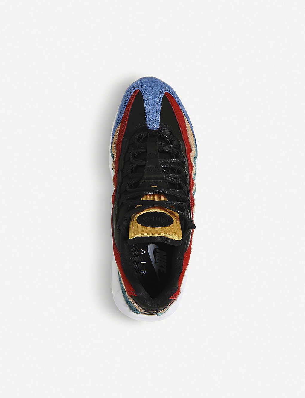 online store 6ec60 9cb84 ... Air Max 95 pony-hair trainers ...