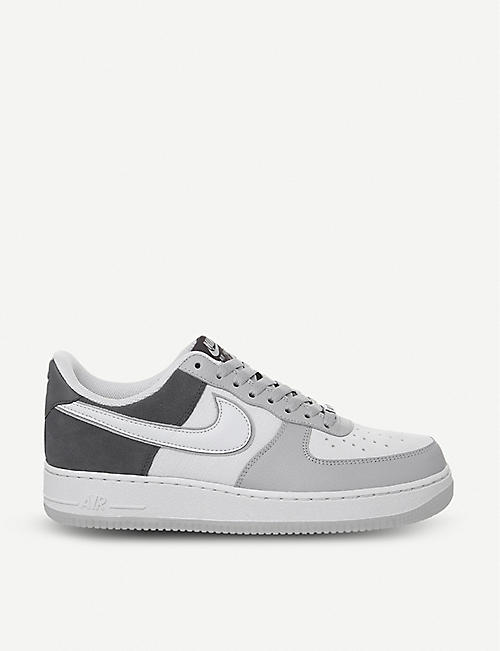 new concept c7fdb 7bcbb NIKE Air Force 1 07 leather trainers