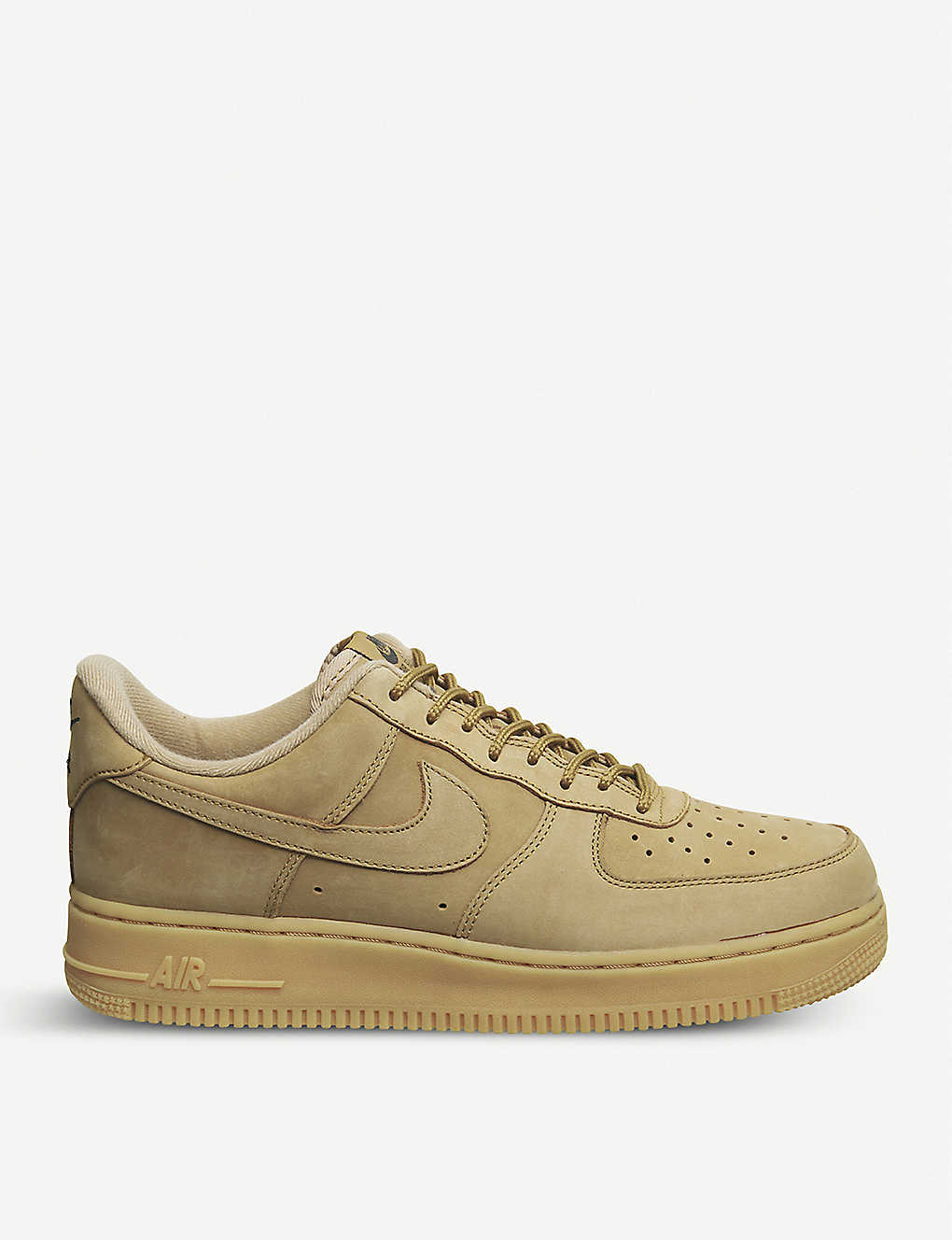33a27f4907619 NIKE - Air Force 1 low-top faux-suede trainers   Selfridges.com