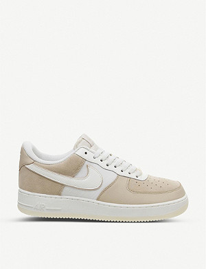 NIKE Air Force 1 LV8 low-top leather and textile trainers