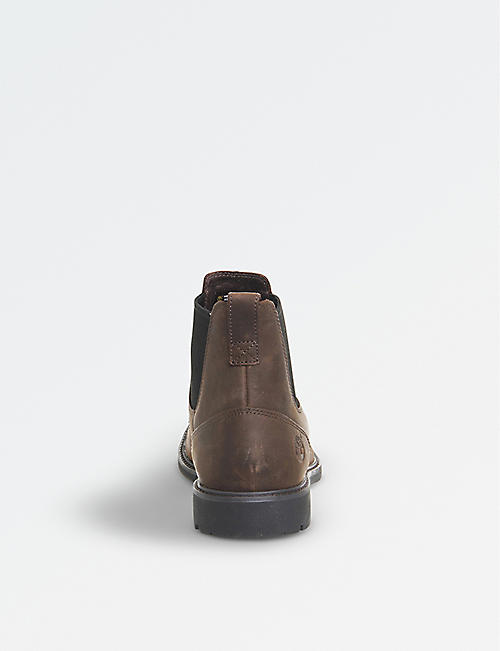 TIMBERLAND Stormbuck leather chelsea boots
