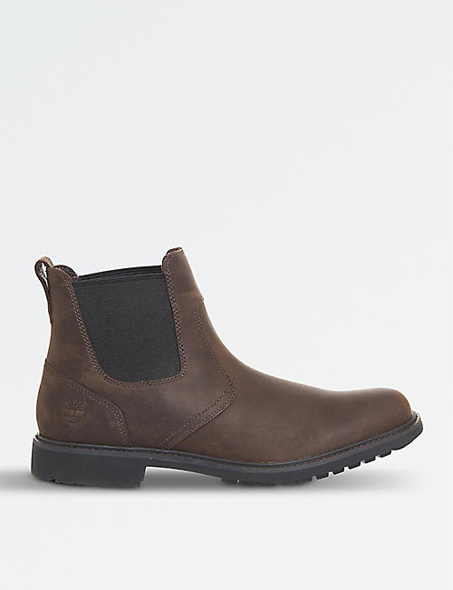 a8c88c3f7c84 TIMBERLAND Stormbuck leather chelsea boots