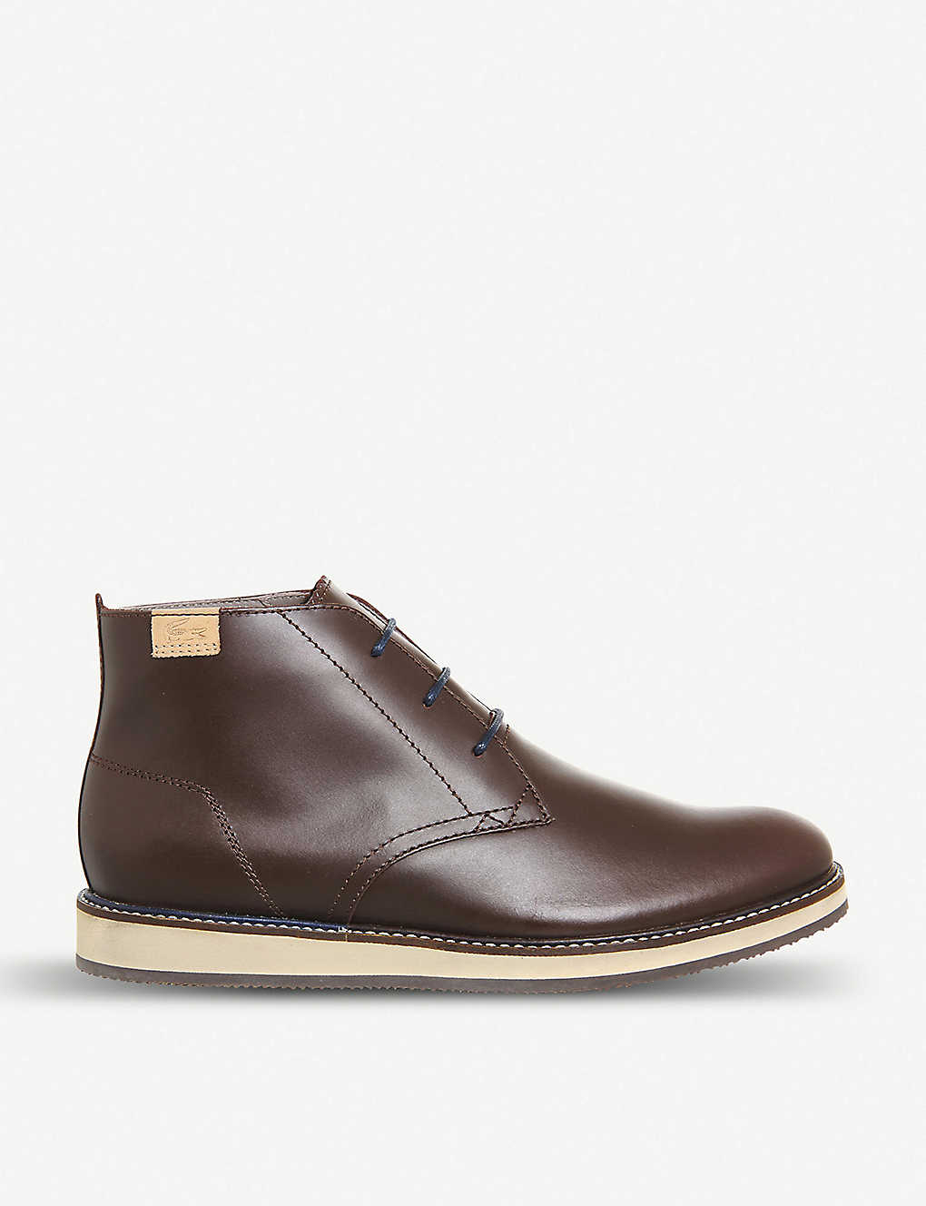 82ce83ff64c LACOSTE - Millard 2 leather chukka boots   Selfridges.com