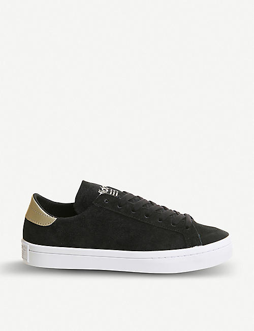 f1a4f2573f91 ADIDAS Court vantage suede trainers